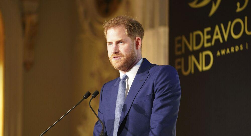 El príncipe Harry (archivo)