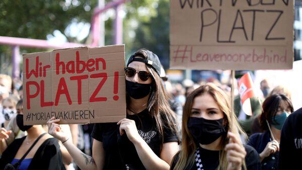 Manifestación en Berlín - Sputnik Mundo