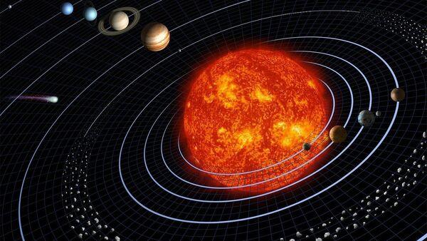 El sistema solar (ilustración) - Sputnik Mundo