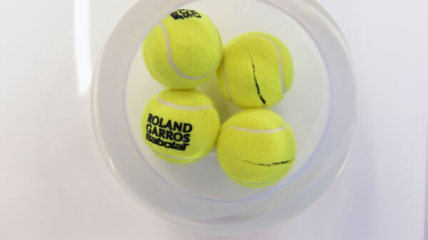 Pelotas de tenis  - Sputnik Mundo