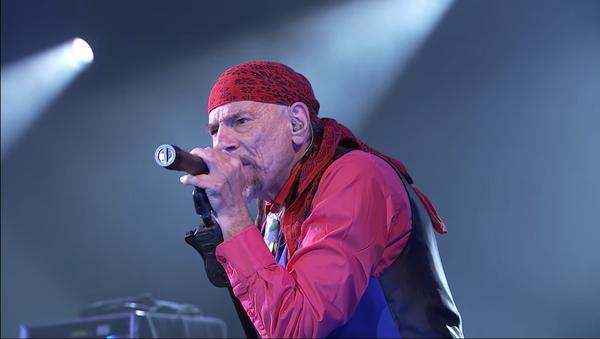 Enrique Villarreal 'El Drogas' durante un concierto - Sputnik Mundo