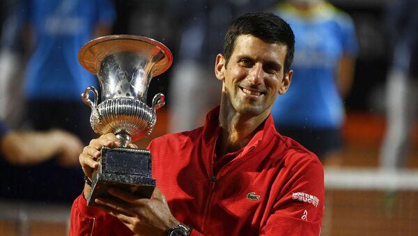 Novak Djokovic, tenista serbio - Sputnik Mundo