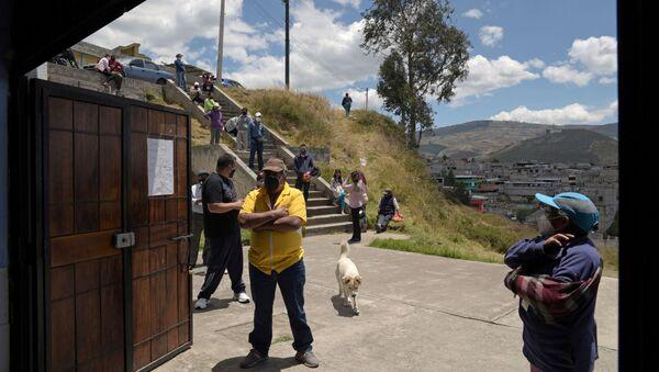 Coronavirus en Ecuador - Sputnik Mundo