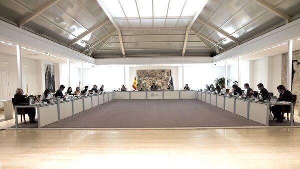Reunión del Consejo de Ministros de España el 22 de septiembre de 2020 - Sputnik Mundo