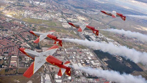 Imagen referencial del Getafe Airshow 2019 - Sputnik Mundo