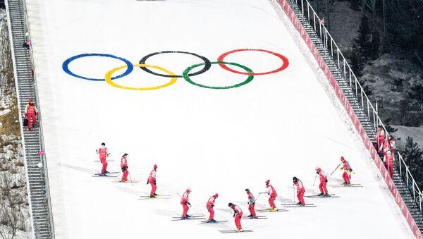 Juegos Olímpicos (JJOO) de invierno (imagen referencial) - Sputnik Mundo