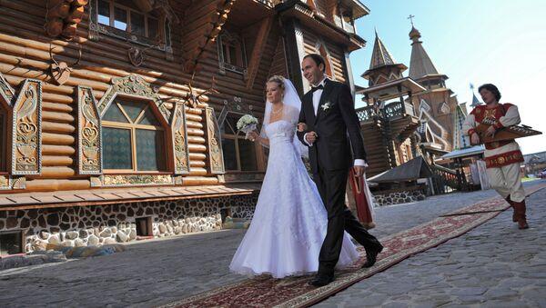 Una boda rusa (imagen referencial) - Sputnik Mundo