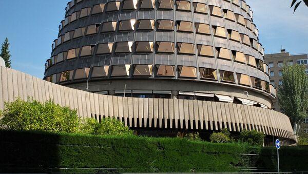 Tribunal Constitucional de Madrid (España) - Sputnik Mundo