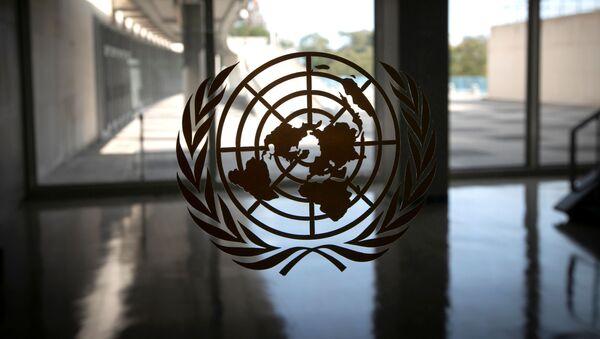 El logo de la ONU - Sputnik Mundo