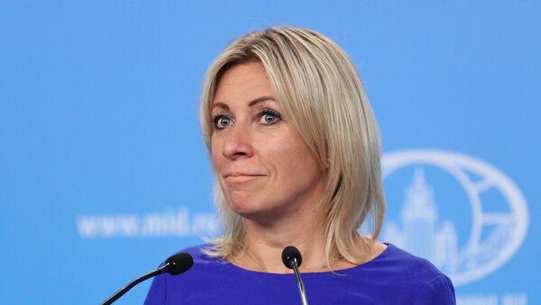 María Zajárova, portavoz de la Cancillería rusa - Sputnik Mundo
