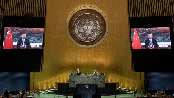 La 75 sesión de la Asamblea General de la ONU - Sputnik Mundo