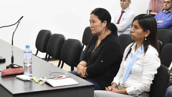 Keiko Fujimori, líder del partido opositor peruano Fuerza Popular - Sputnik Mundo