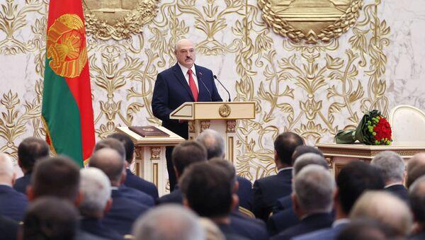Сeremonia de investidura de Alexandr Lukashenko - Sputnik Mundo