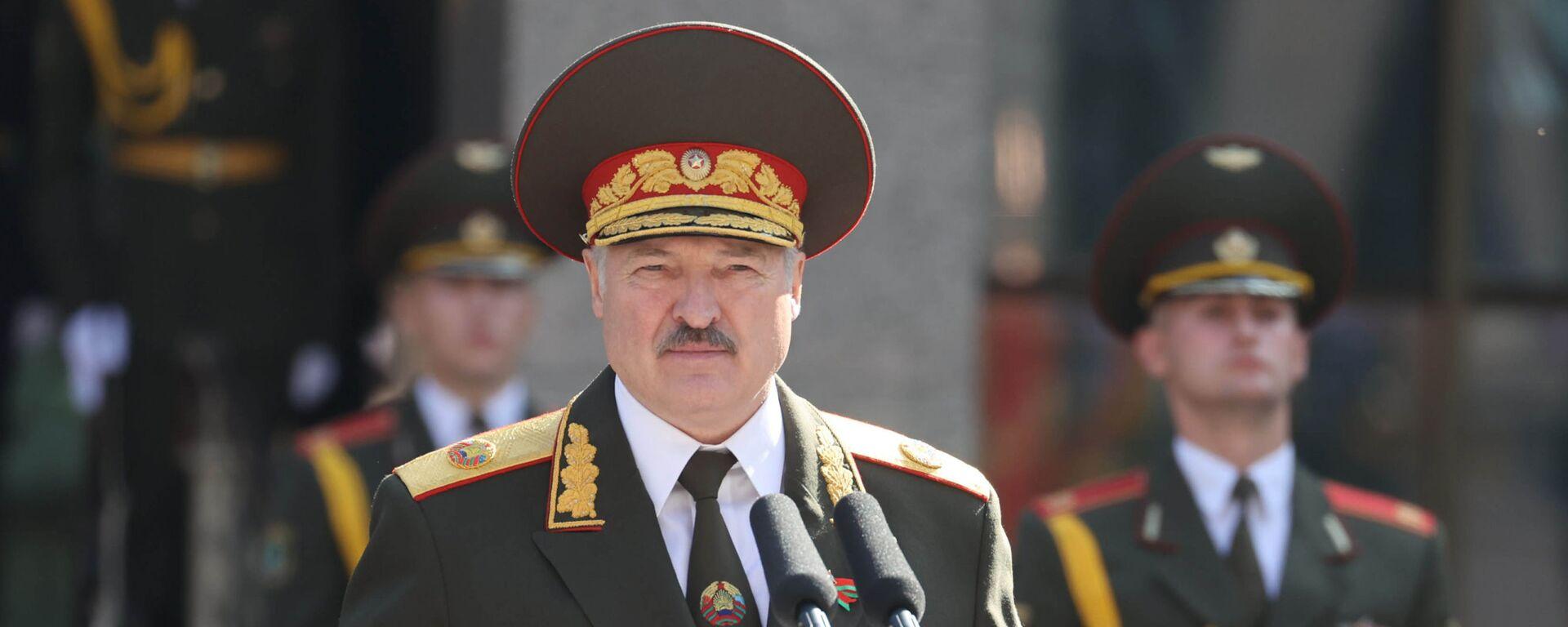 Alexandr Lukashenko, presidente de Bielorrusia - Sputnik Mundo, 1920, 19.04.2021