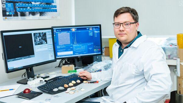 Evgueni Kolésnikov, científico de la Universidad Nacional de Ciencia y Tecnología de Rusia MISIS - Sputnik Mundo