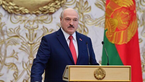 La investidura de Alexandr Lukashenko en Bielorrusia - Sputnik Mundo