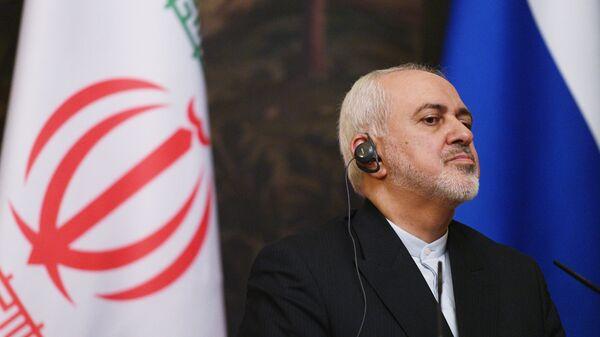 Mohamad Yavad Zarif, canciller iraní - Sputnik Mundo