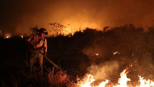 Incendios en Brasil - Sputnik Mundo