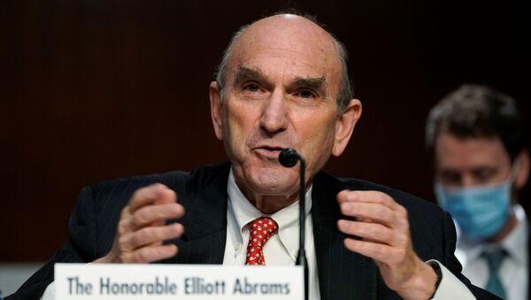 Elliott Abrams, representante especial de Washington para Irán - Sputnik Mundo