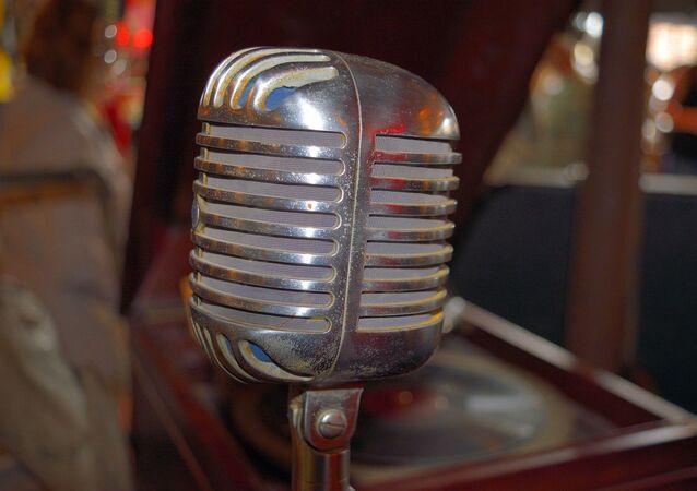 Micrófono antiguo