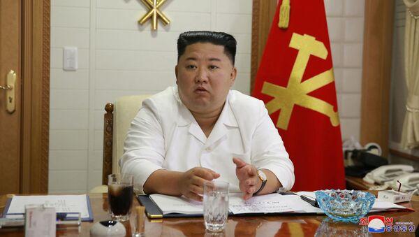 El líder norcoreano, Kim Jong-un - Sputnik Mundo