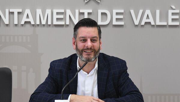 Carlos Galiana, concejal del Ayuntamiento de Valencia (España) - Sputnik Mundo