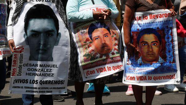 Los retratos de los estudiantes desaparecidos en Ayotzinapa - Sputnik Mundo