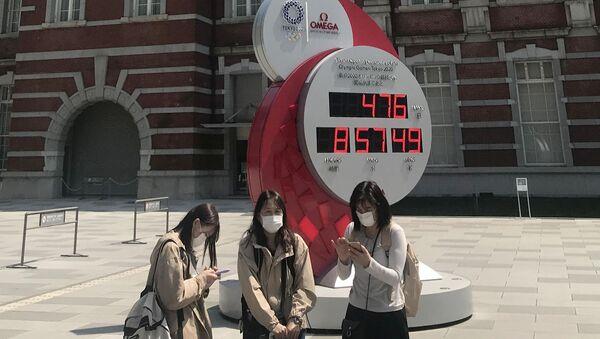 El reloj de los Juegos Olímpicos de Tokio  - Sputnik Mundo