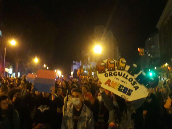 Marcha de la Diversidad, Uruguay, 2020 - Sputnik Mundo