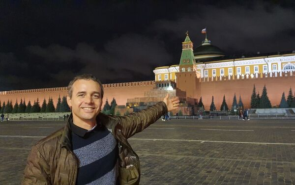 Sebastián Beltrame en Rusia - Sputnik Mundo