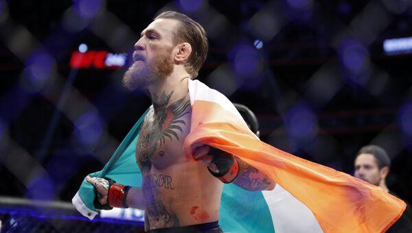 Conor McGregor, luchador irlandés - Sputnik Mundo