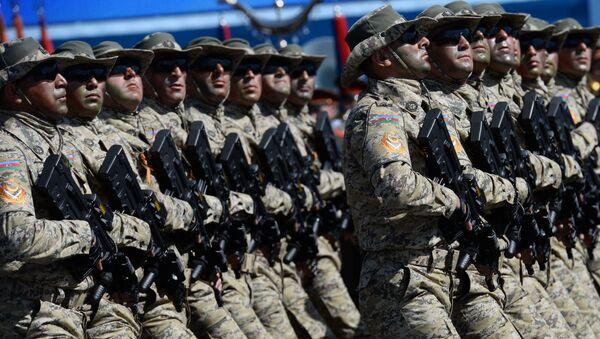 Soldados azeríes (archivo) - Sputnik Mundo