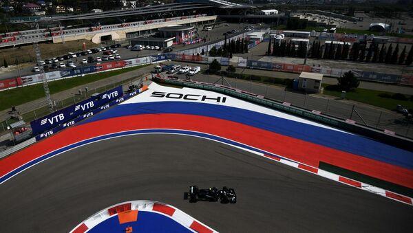 El circuito de carreras de F1 en Sochi, Rusia - Sputnik Mundo