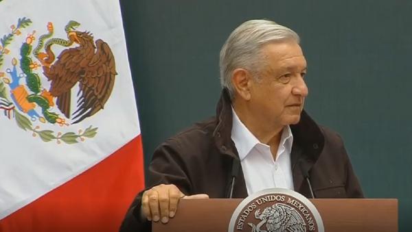 Así pidió AMLO disculpas a los familiares de los 43 de Ayotzinapa - Sputnik Mundo