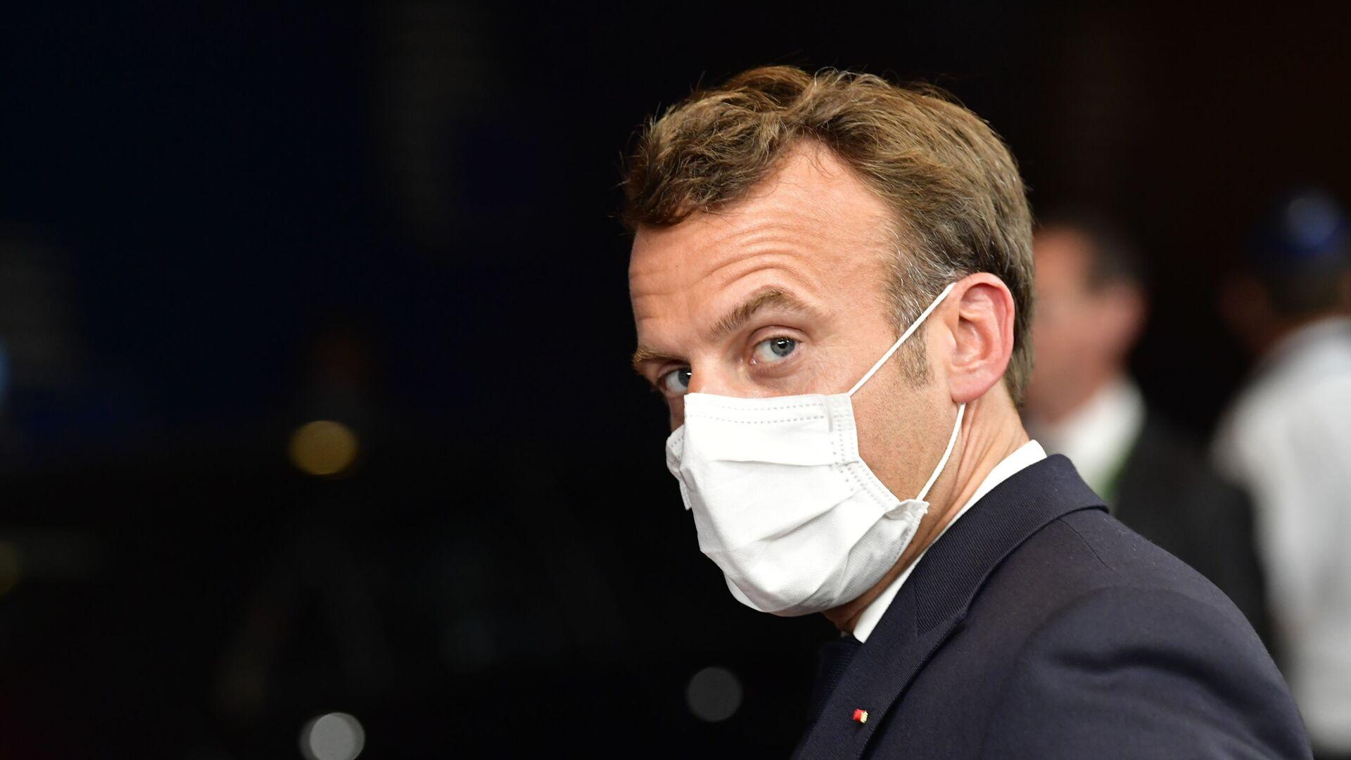 Emmanuel Macron - Sputnik Mundo, 1920, 22.07.2021