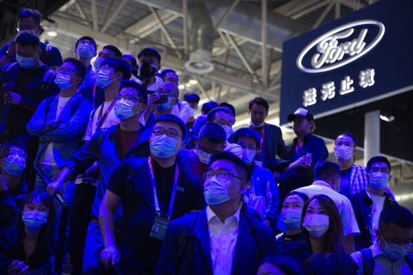 Auto China: una visita al Salón del Automóvil de Pekín   - Sputnik Mundo