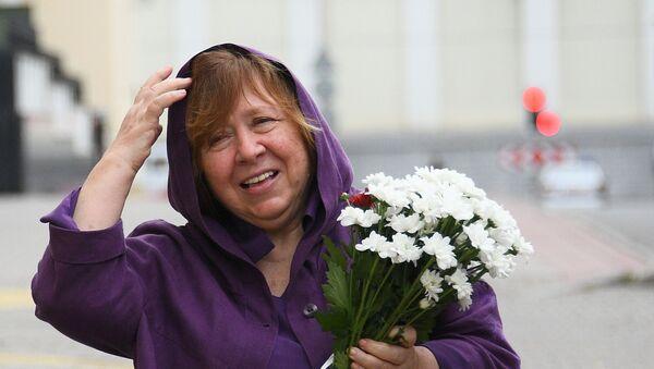 Svetlana Alexiévich, la Premio Nobel de Literatura y miembro del opositor Consejo de Coordinación - Sputnik Mundo