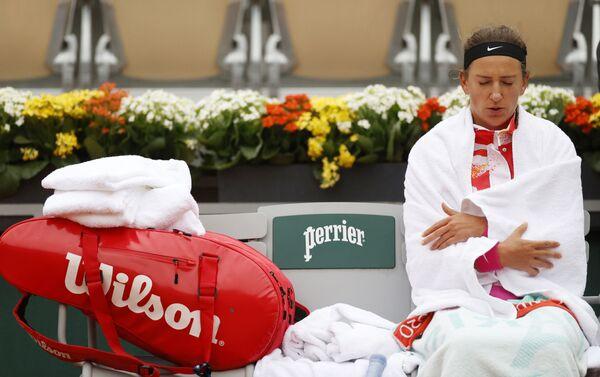 Victoria Azarenka, tenista bielorrusa en el torneo de tenis de Roland Garros - Sputnik Mundo