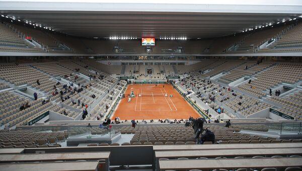 El torneo de tenis de Roland Garros en París, Francia - Sputnik Mundo