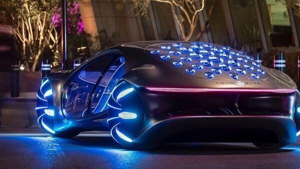 El Mercedes Benz Vision AVTR - Sputnik Mundo