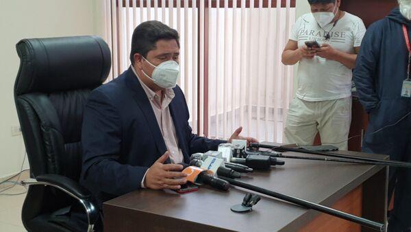Oscar Mercado, ministro de Trabajo de Bolivia - Sputnik Mundo