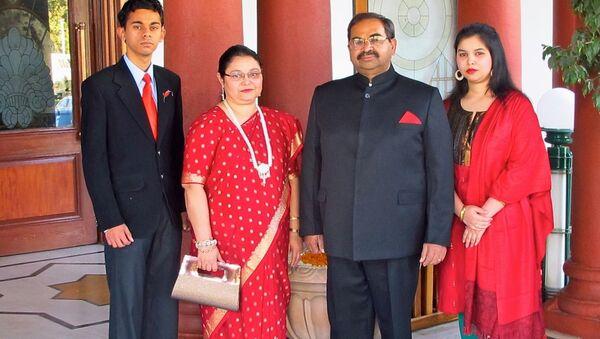 Familia Real de Borbón en Bhopal (India) - Sputnik Mundo
