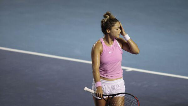 La tenista mexicana Renata Zarazúa (archivo) - Sputnik Mundo