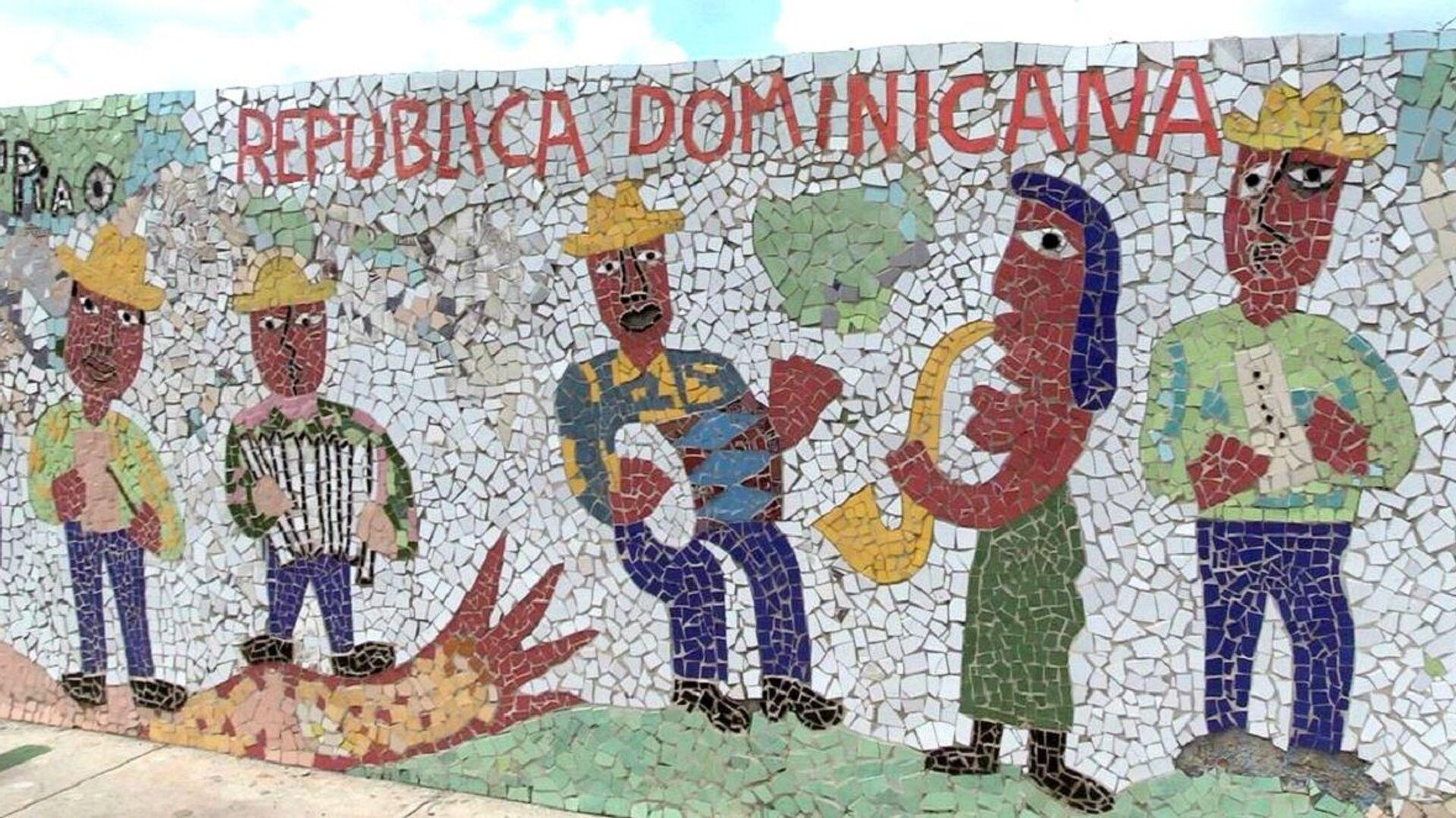 Mural dedicado a República Dominicana - Sputnik Mundo, 1920, 14.06.2021