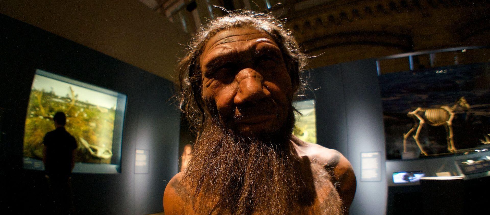 Un neandertal (imagen referencial) - Sputnik Mundo, 1920, 29.09.2020