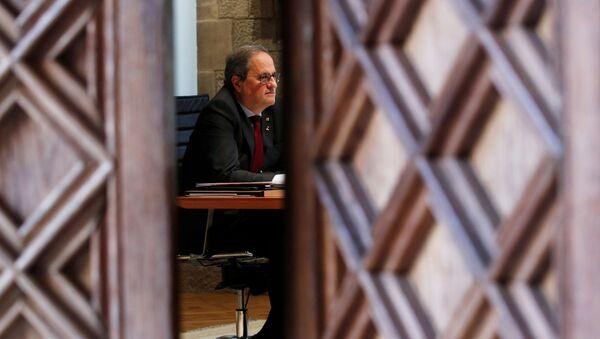 Quim Torra, expresidente de la Generalitat de Cataluña - Sputnik Mundo