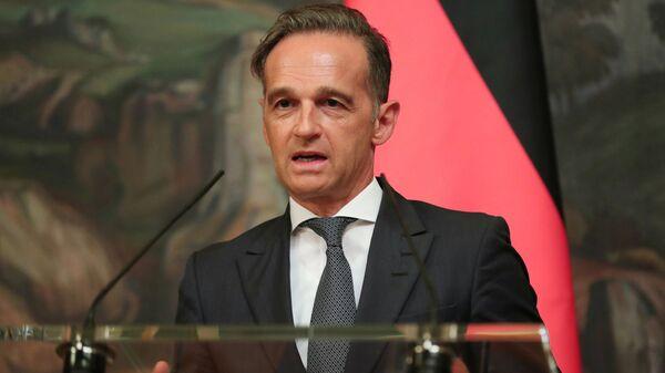 Heiko Maas, el ministro de Asuntos Exteriores alemán - Sputnik Mundo