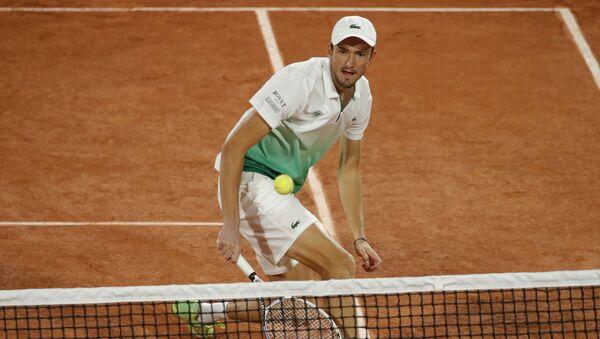 Daniil Medvédev, tenista ruso, durante el Torneo de de Roland Garros 2020 - Sputnik Mundo