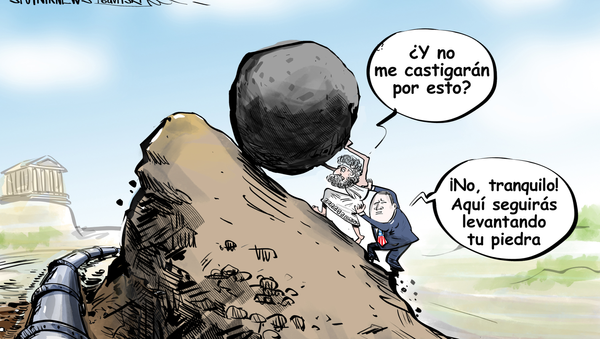 Como la roca de Sísifo, EEUU usa a Europa para enfrentar a Rusia - Sputnik Mundo