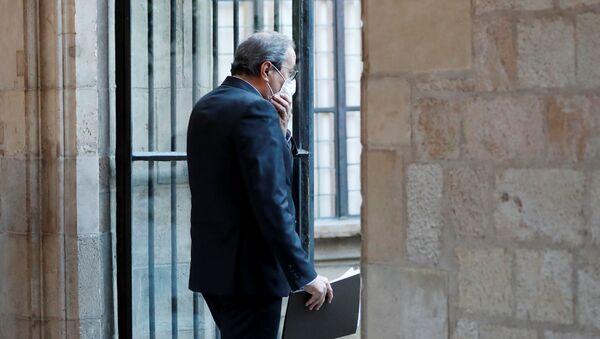 Expresidente de la Generalitat, Quim Torra - Sputnik Mundo